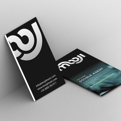 Business Card for Mooji