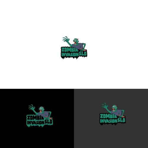 Logo design for Zombie Run Event