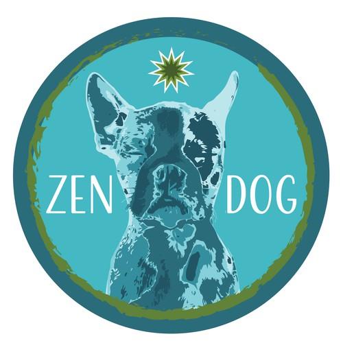 Dog Badge logo
