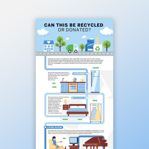 Infographic about Recycling