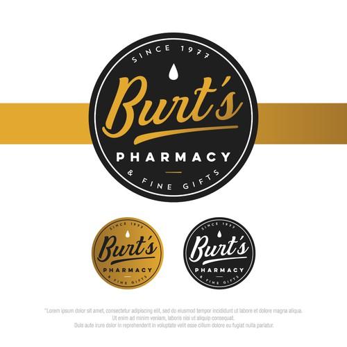 Bold logo for Burt's Pharmacy