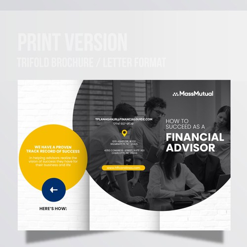 Succeed as a Financial Advisor Infographic