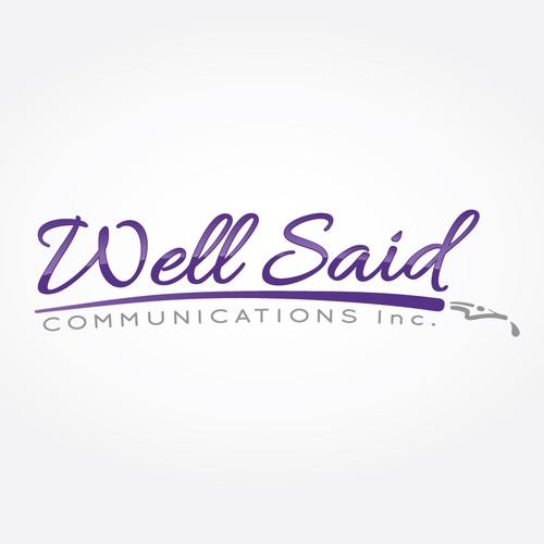 Logo for Well Said Communications Inc.
