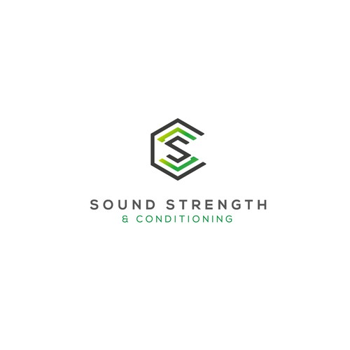 simple and clean logo for health company.
