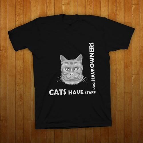 Cats T-Shirt Design
