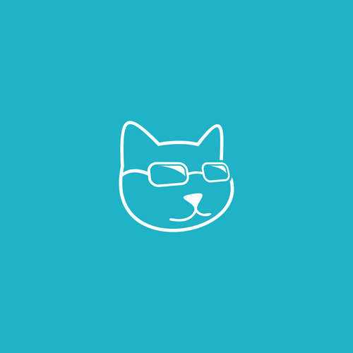 Create a cat question logo