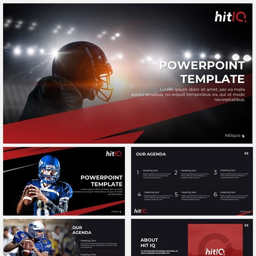 Powerpoint Template for hitIQ