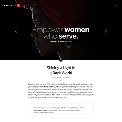 Project 2031 Website Design