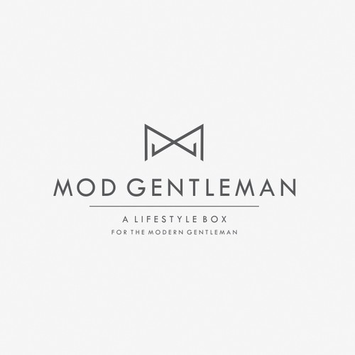 Logo for lifestyle mounthly subscription for the modern gentleman