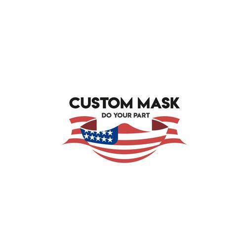 Logo for mask brand.