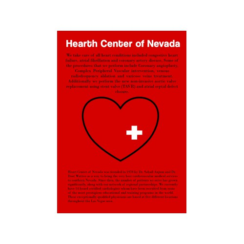 Magazine add for the best cardiology group in las vagas