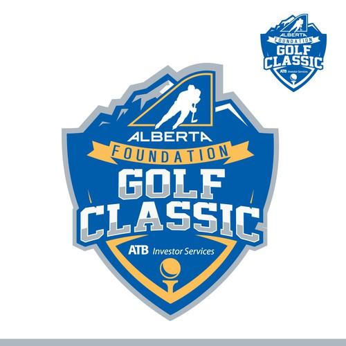 bold golf classic logo