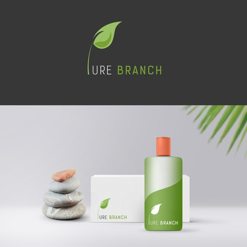 logo concept for pure branch