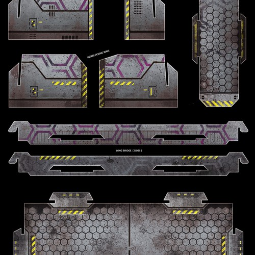 Textures for Miniature Wargame Buildings and Terrain