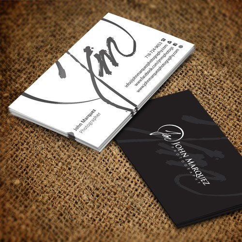 Business Cards for JM Photography/ John Marquez Photography