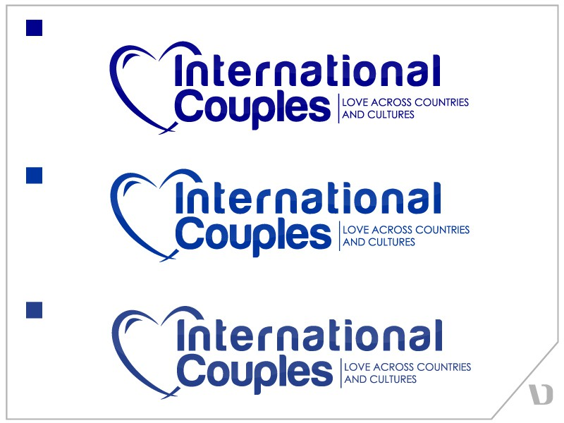 Help International Couples with a new logo