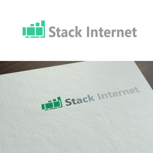 Simple Logo for Stack Internet