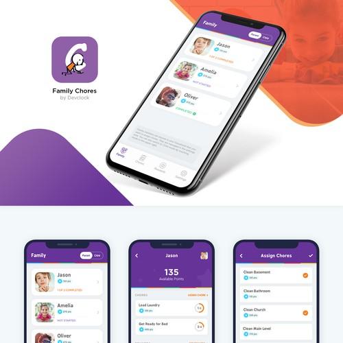 App Design for Family Chores