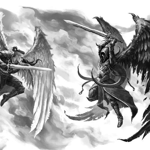ángel vs. demonio