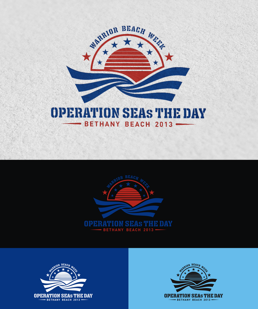 logo for OPERATION SEAs THE DAY