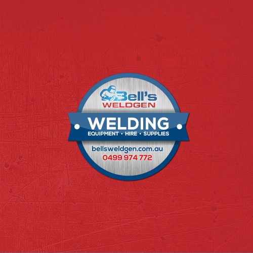 Bell's Welding Sticker Design