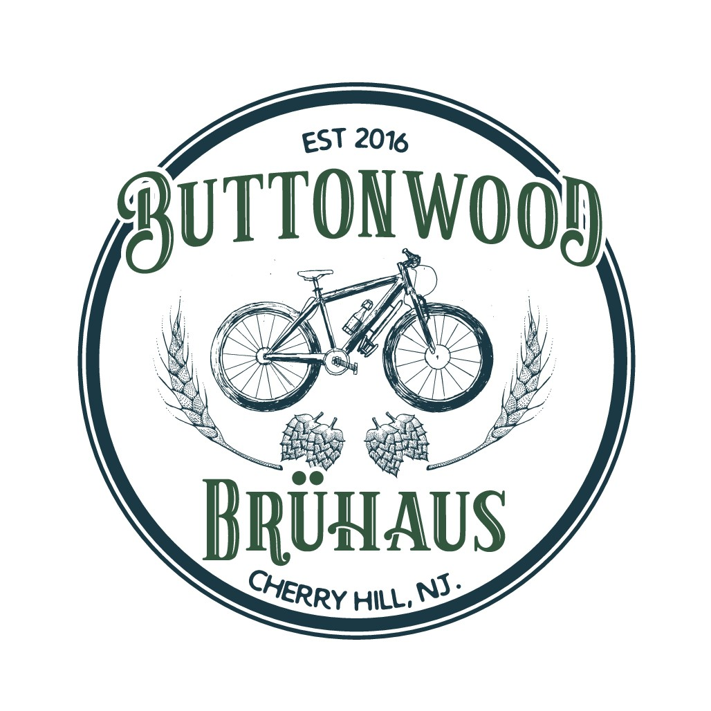 Design a hipster logo for two guys who like to brew beer and ride bikes!