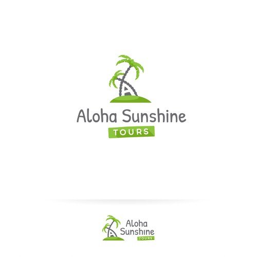 Fun and inviting logo for a Tourist Agency