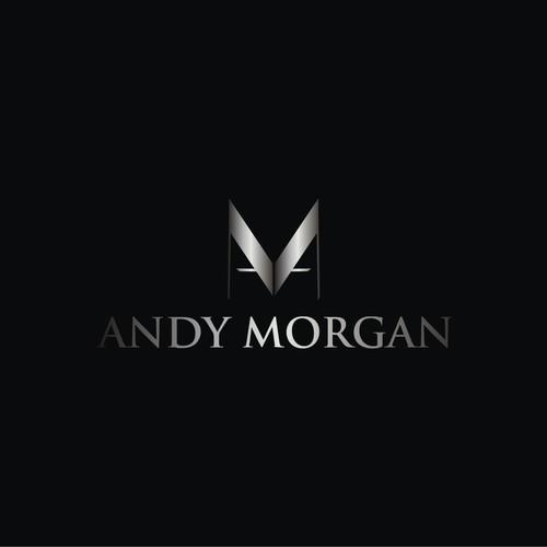 Andy Morgan DJ brand Logo Design