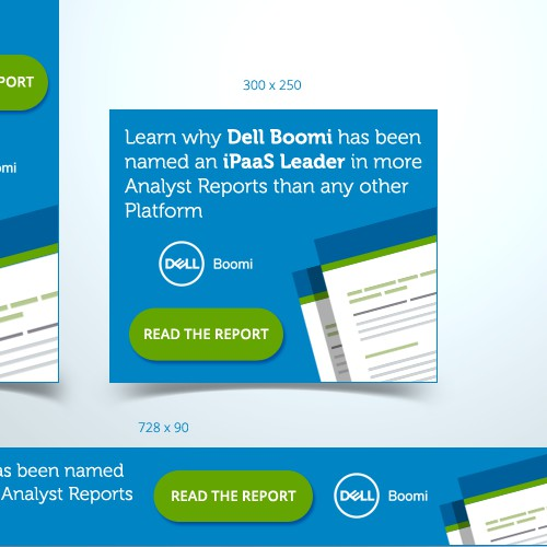 Banner ads design for Dell Boomi