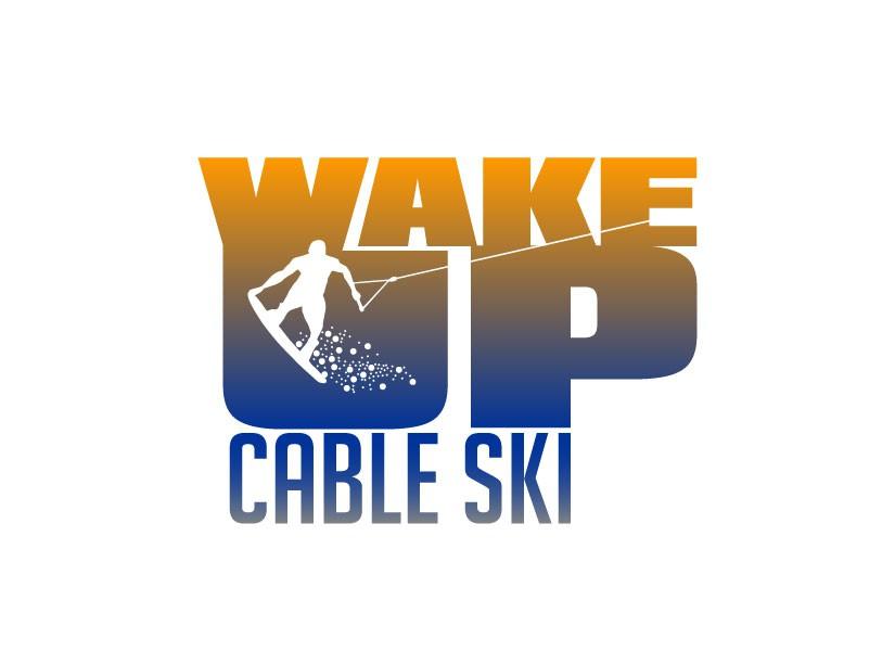 Wake Up Cable Ski needs a new logo