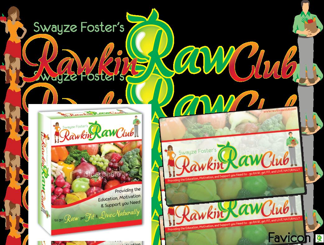 Please help design a logo for the Rawkin' Raw Club