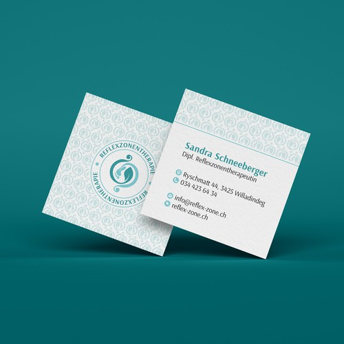 Business card_Reflexology therapist