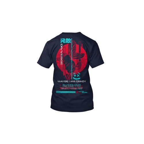 Urban Street wear t-shirt design