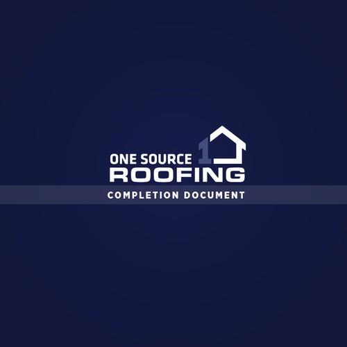 Folder Design for OneSource Roofing