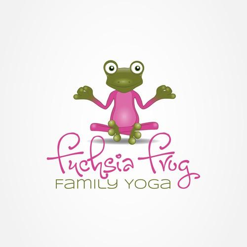 Fuchsia frog