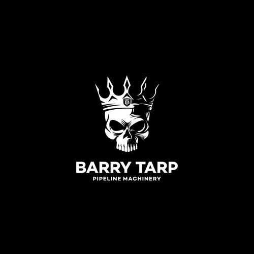 logo design for Barry Tarp, pipeline equipment distributor company