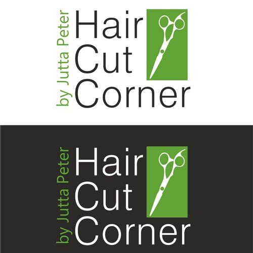 Neues Logo hair cut corner