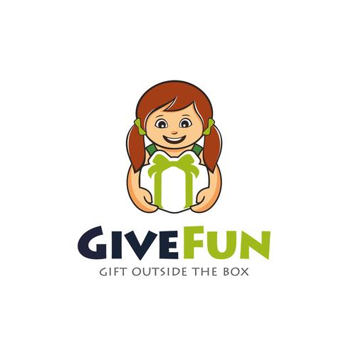 GiveFun startup needs fun,fresh logo