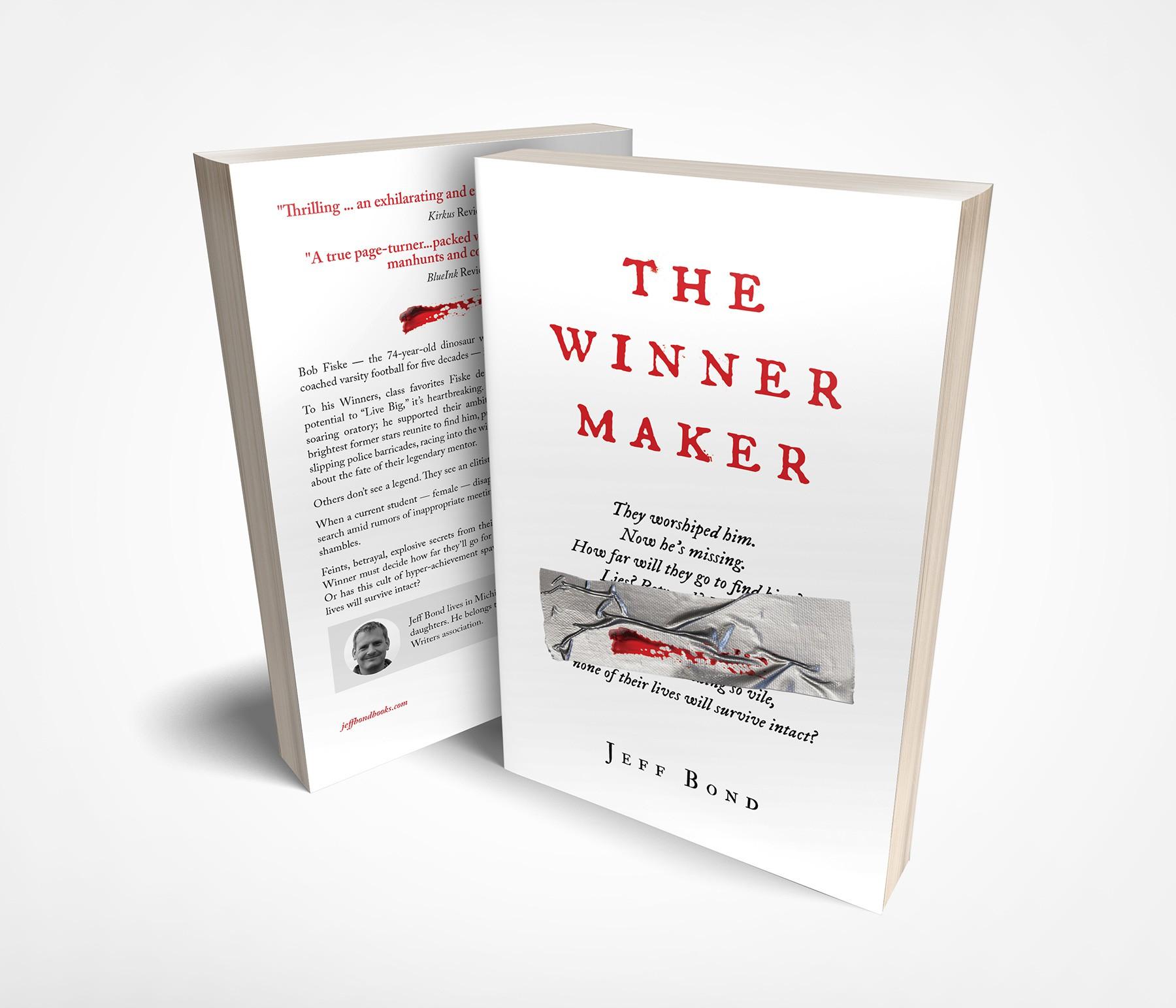 book cover for The Winner Maker (thriller)