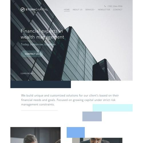 SternCapital Web Design