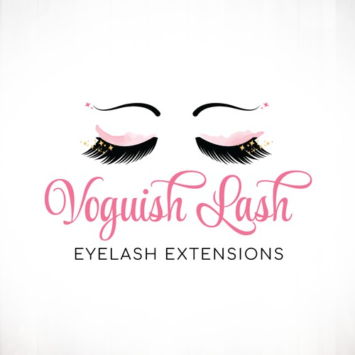 Eyelash Extensions Logo Design