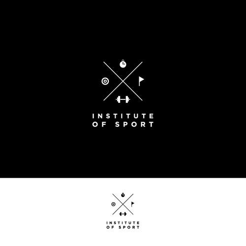 Institute of Sport Logo Design
