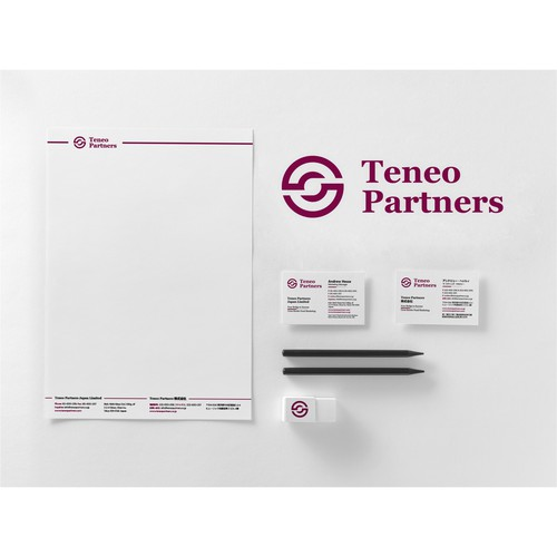 Letterhead and Business Card for Teneo Partners