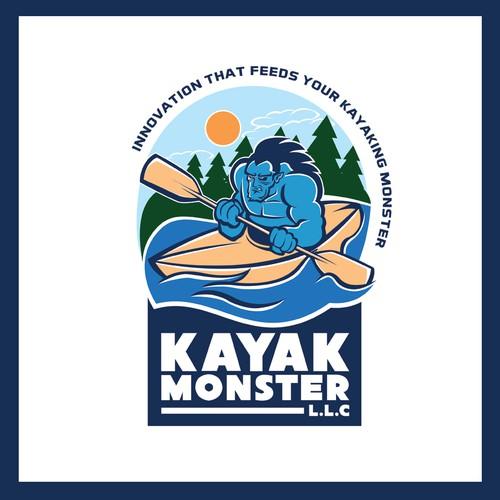 kayak monster logo