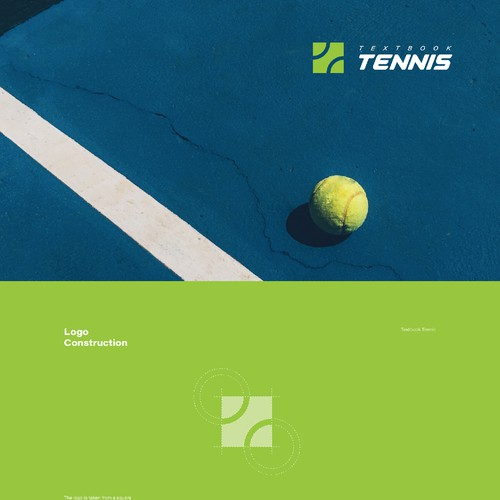Brand Identity for Textbook Tennis