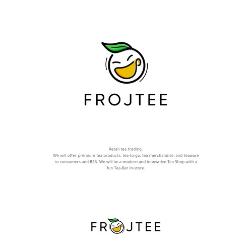 Logo concept for Frojtee