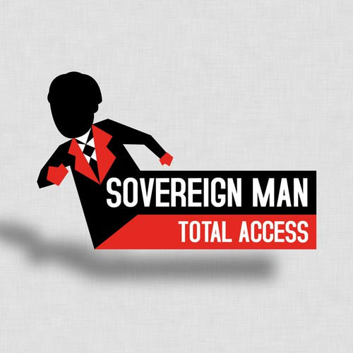 Create the next logo for Sovereign Man: Total Access