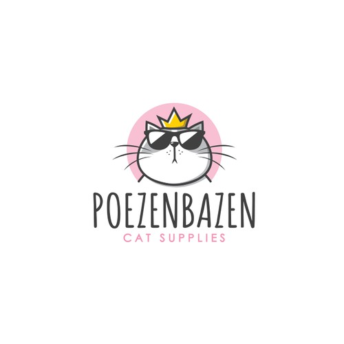 Logo for a cat webshop