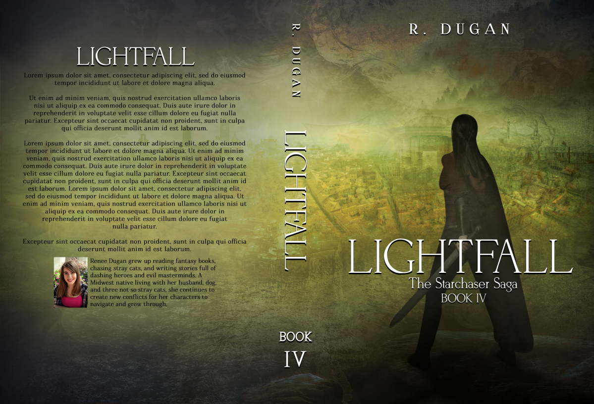 Starchaser Book 4  - LIGHTFALL Cover Design :)