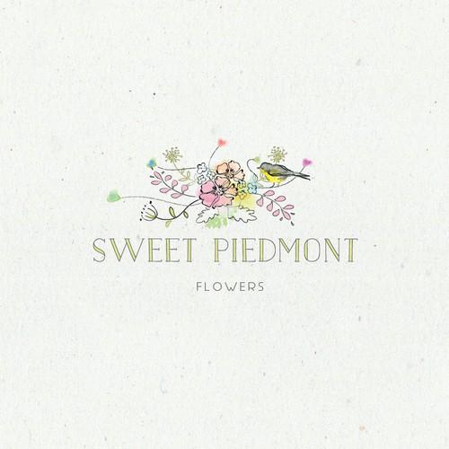 logo for flower farm